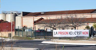 Rivesaltes : Manifestation contre le projet de prison